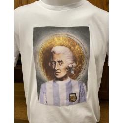 Tee Shirt Corse - Imprimé à Ajaccio - 100% Coton Bio